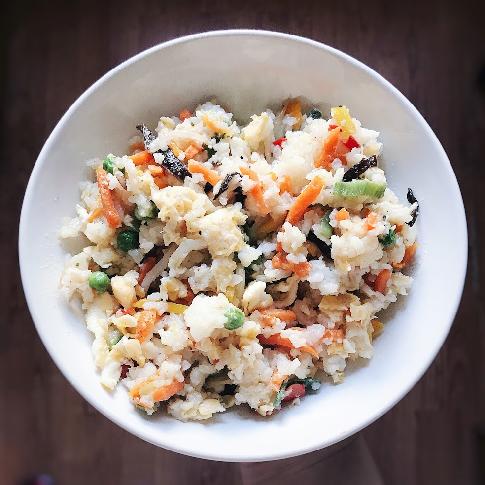 Quick and easy vegetable rice