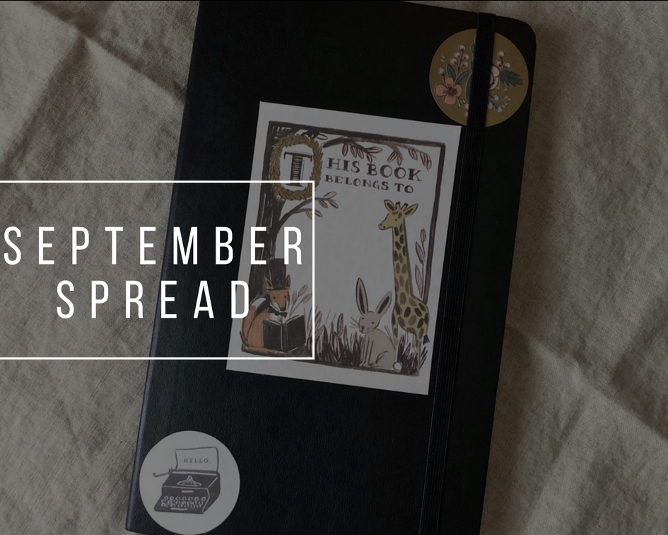 September spread | Bullet Journal 2018