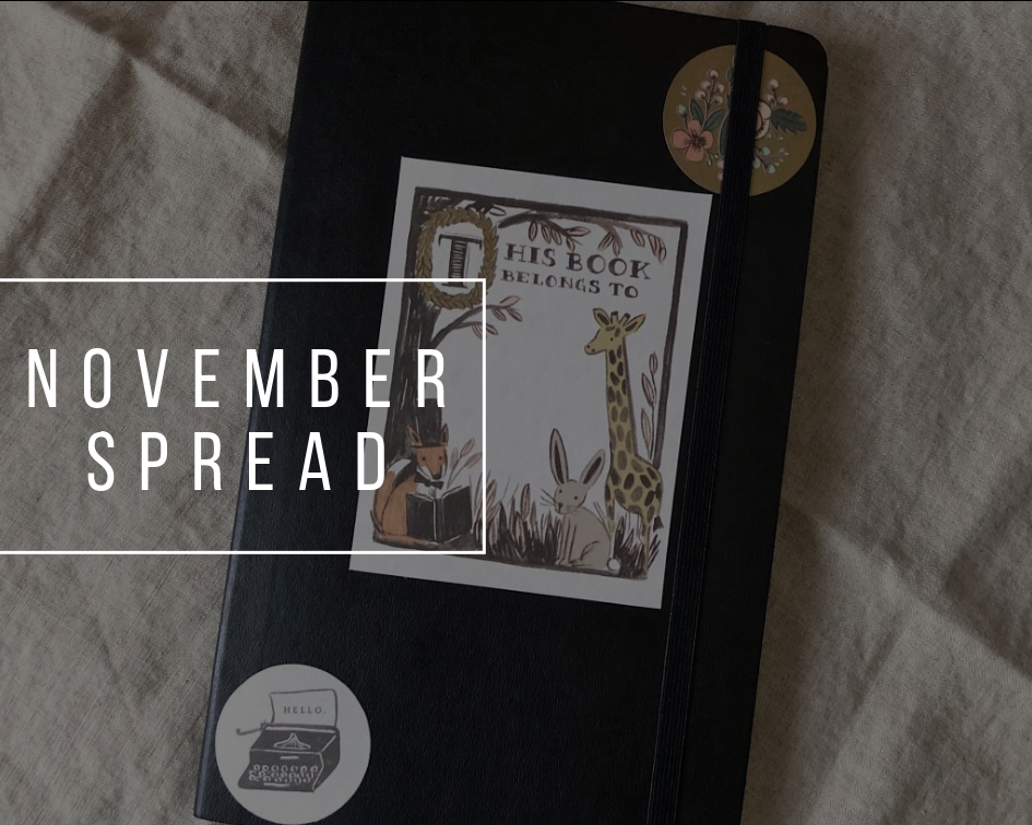 Bullet Journal 2018 | November Setup